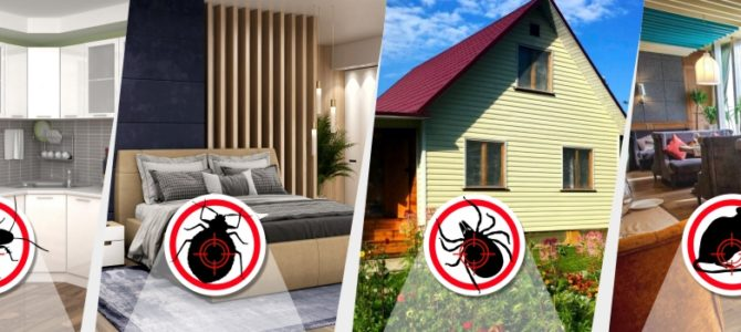 Уничтожение тараканов, клопов, грызунов, клещей